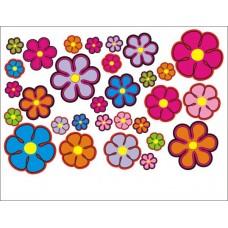 bloemensticker set 1