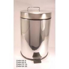 Afvalbak RVS 30 liter Retro