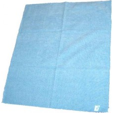 Dweil microvezel groot - 70 x 60 cm - blauw