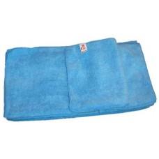 4 stuks Microvezeldoek gebreid (zware kwaliteit) 40 x 40 cm - Blauw